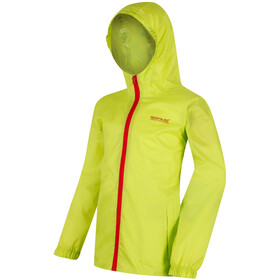 Regatta Pack It III Jacket Kids, lime zest